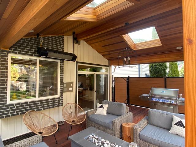 visual image of living room renovation
