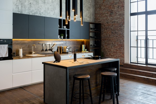 a new modern renovated kitchen in vancouver