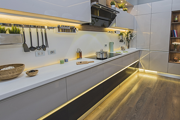 Hire a kitchen renovation contractor can simply add the lighting for your kitchen is the simplest way to do renovation for you home kitchen in Vancouver